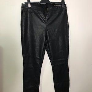 BLANKNYC Black Faux Leather Leggings - Size 31